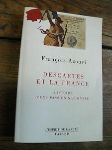 Descartess, François Azouvi