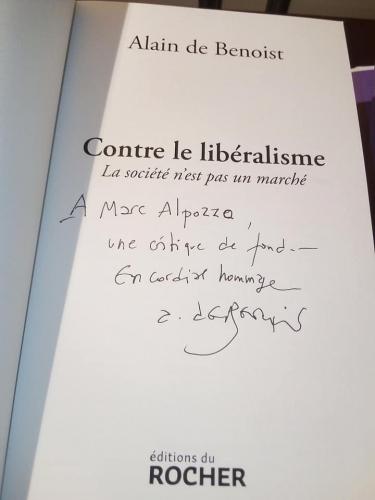 alain de benoist,nouvelle droite,libéralisme,conservatisme,stéphane françois,manuel valls,gilets jaunes